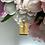 Thumbnail: Wisiorek złoty blaszka krzyżyk