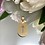 Thumbnail: Medalik z krzyżem złoty