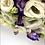 Thumbnail: Kolczyki złote masa perłowa
