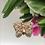 Thumbnail: Wisiorek złoty motyl