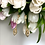 Thumbnail: Kolczyki złote wiszące cyrkonia