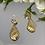 Thumbnail: Kolczuki złote ażurowe