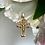 Thumbnail: Wisiorek złoty krzyżyk