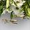 Thumbnail: Kolczyki złote sopelki