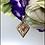 Thumbnail: Wisiorek złoty grecki wzór cyrkonie