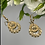 Thumbnail: Kolczyki złote kółka