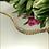 Thumbnail: Bransoletka złota cyrkonie