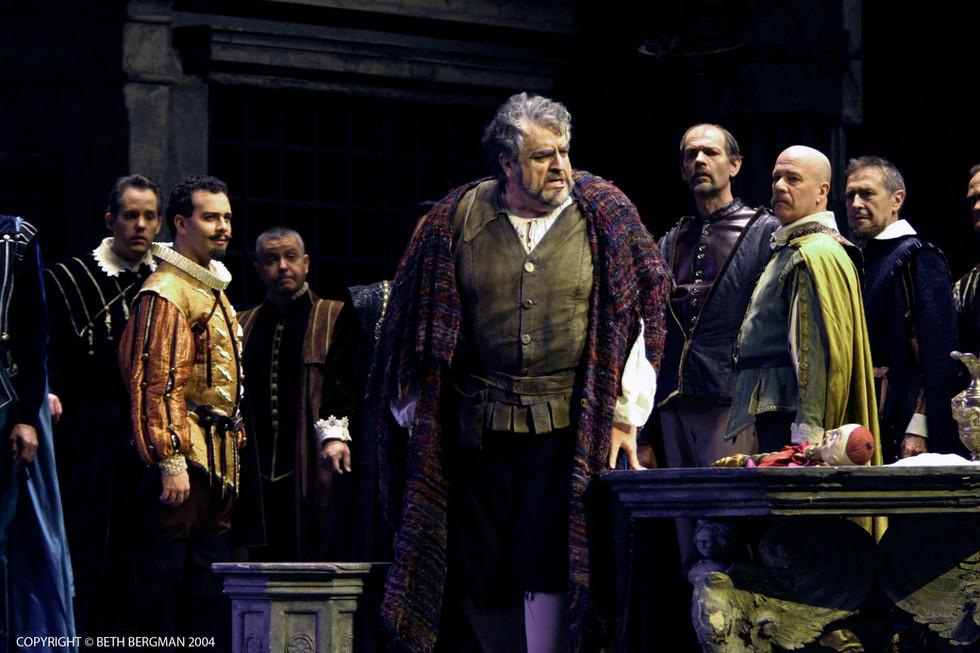Rigoletto - Count Ceprano - Debut, December 24, 1999