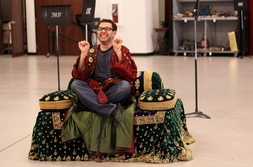 LOKC Mustafa's Rehearsal Throne