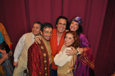 Backstage with the L'italiana Gang in Dallas