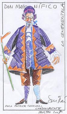 Magnifico Sketch by Juan Guillen