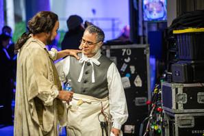 With Richard Bernstein backstage at Bravo Vail!