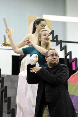 Rehearsal Cenerentola Seattle Opera 2012