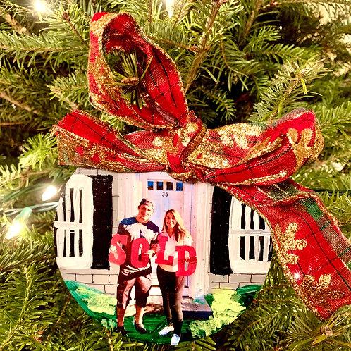 Custom House Warming Ornament 🏠