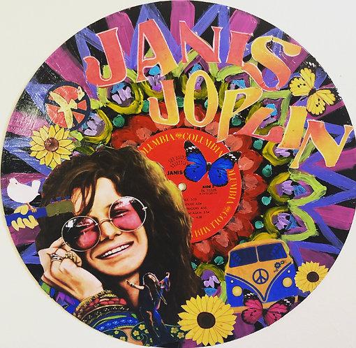 Janis Joplin Collage
