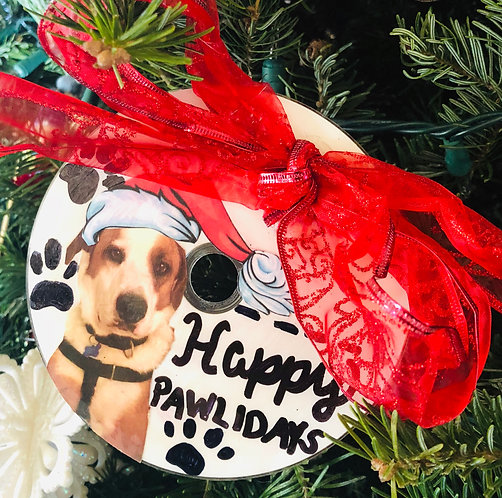 Custom Dog Ornament 🐶