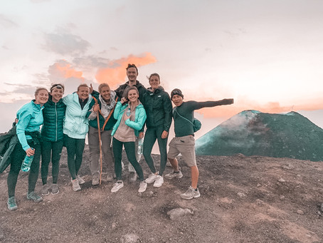 MUST DO | Sleeping on the Pacaya volcano in Guatemala
