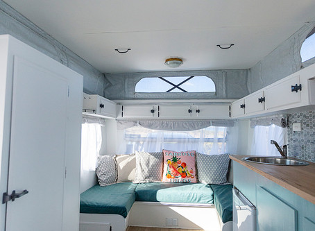 Don't be afraid of colour in caravans
