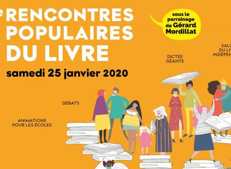 23-24 janvier : MOTUS aux Rencontres populaires du Livre de Saint-Denis (93)