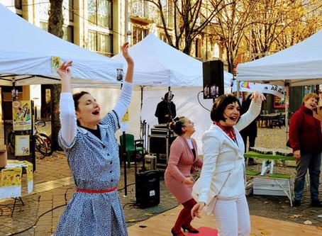 27 janvier 2019 Stretching anti-crise au Festival Salé sucré