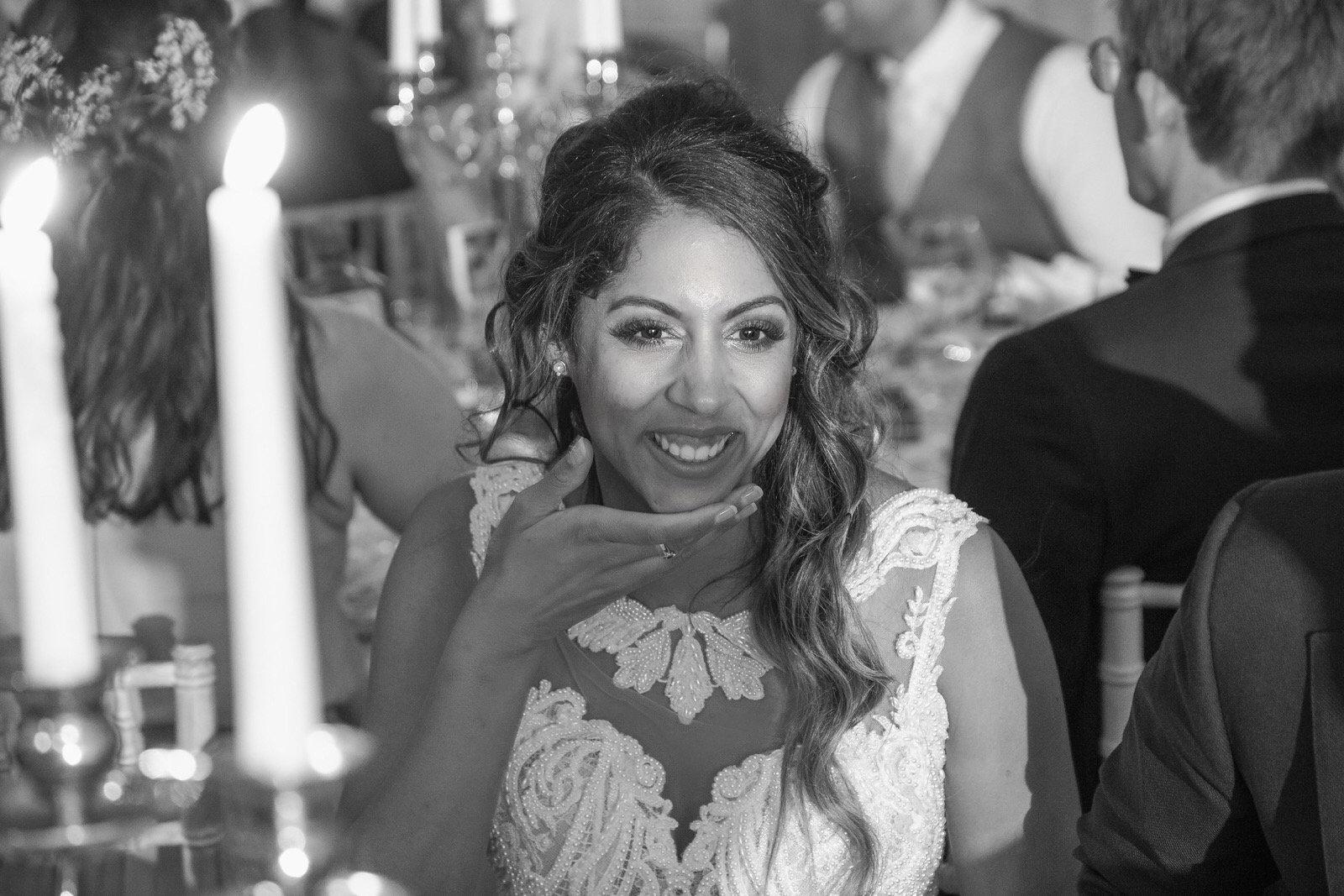 Braut MakeUp mit Probe