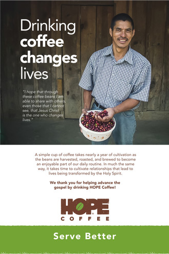 HOPE Coffee Poster