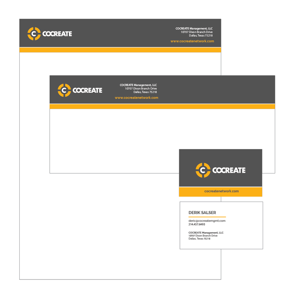 COCREATE Stationery