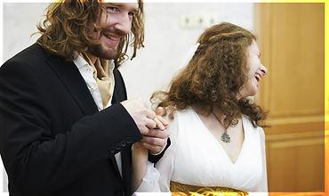 Lala Lotos. Авторские ювелирные украшения  из Украины. Купить или заказать. Обручальные кольца со славянской символикой.