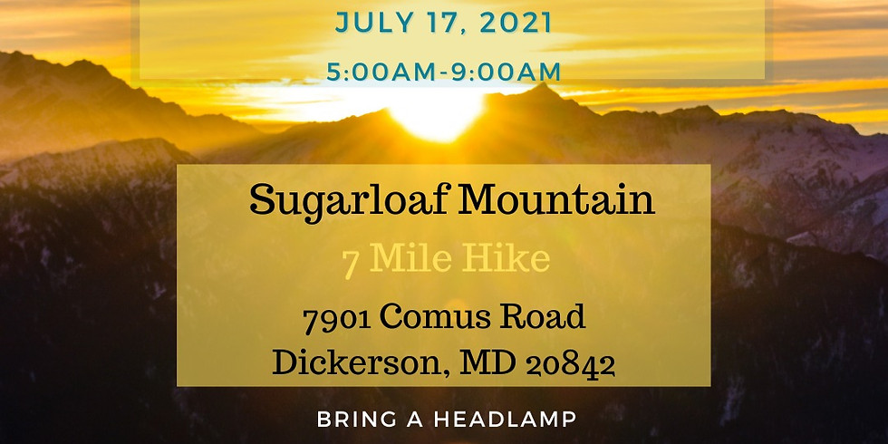 Sunrise Hike Sugarloaf Mountain