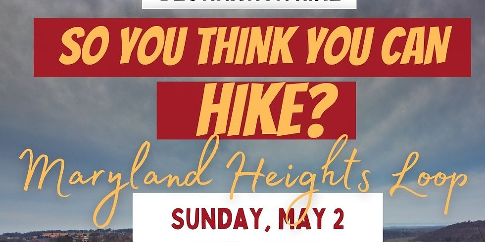 So You Think You Can Hike- Advanced Trail