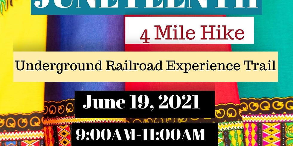 Juneteenth - Underground Railroad Experience Hike