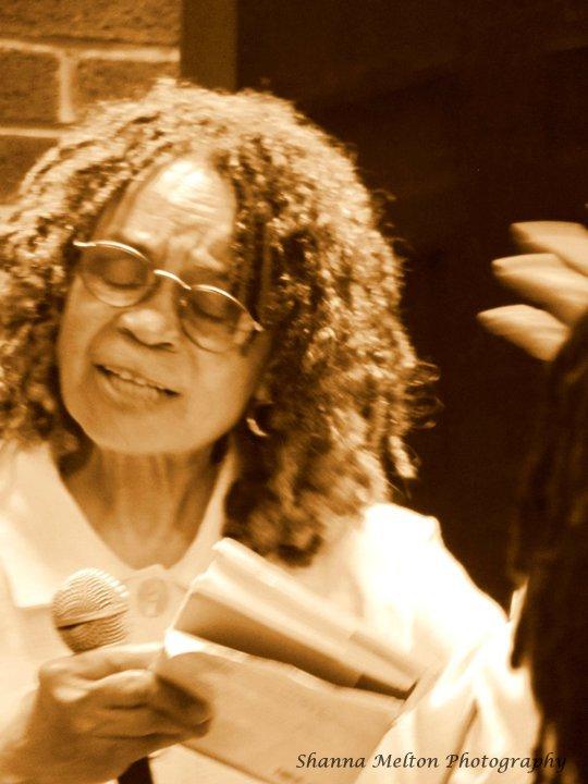 Sonia Sanchez. Harlem Book Fair