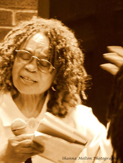 Sonia Sanchez. Harlem Book Fair