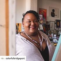 Colorful Bridgeport Featured Artist