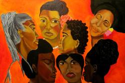 The Women Gather