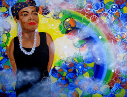 Maya Angelou Our Rainbow In The Clouds