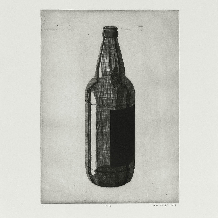 gravura em metal (água-forte e água-tinta). chapa 35x25cm. papel 50x40cm.