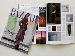 Entrevista para Harper's Bazar Art