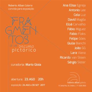 Fragmentos de um Discurso Pictórico | Galeria Roberto Alban