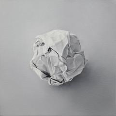 A4 90g/m², 2012 óleo sobre tela. 40 x 40 cm   A4 90g/m², 2012 oil on canvas. 40 x 40 cm  photo Rafaela Netto