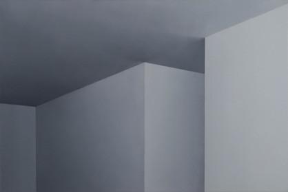 Teto, 2013 óleo sobre tela. 60 x 90 cm   Teto [Ceiling], 2013 oil on canvas. 60 x 90 cm  photo Rafaela Netto