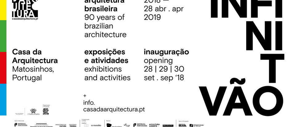 Infinito Vão - 90 anos de arquitetura brasileira | Casa da Arquitectura