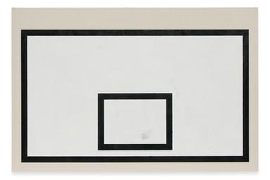 Tabela, 2019 acrílica e óleo sobre tela. 130 x 195 cm  Tabela [Backboard], 2019 acrylic and oil on canvas. 130 x 195 cm