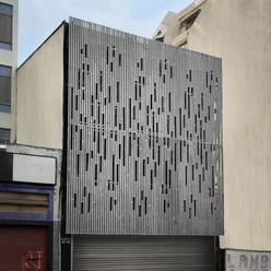 Fachada em painéis de Concreto, 2016 para FGMF Arquitetos.  Facade Concrete Panels, 2016 for FGMF Arquitetos.  photo Stone Pré-Fabricados Arquitetônicos.
