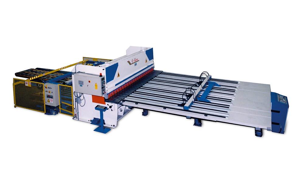 מכונת חיתוך פח פארינה, עיבוד פח, מכונה לעיבוד פח
