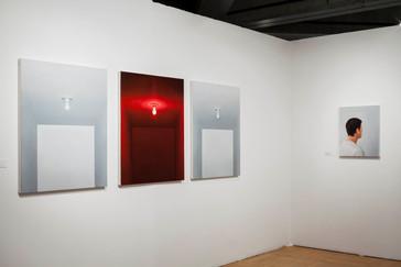 Luz Vermelha, 2015 Exposição Individual. Temporada de Projetos Paço das Artes.   Luz Vermelha [Red Light], 2015 Solo Exhibition. Paço das Artes.  photo Rafaela Netto