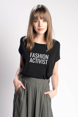 Fashion Activist Fundraiser Tee