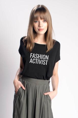 Fashion Activist Fundraiser Tee