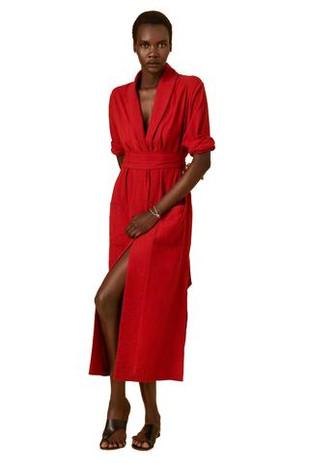Playa Red Dress