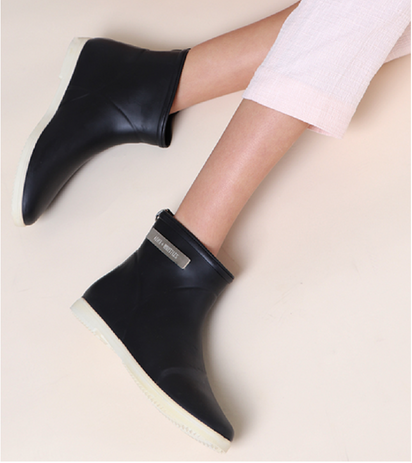 Minimalist Ankle Rain Boots